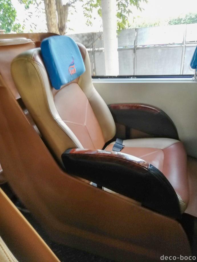 バンコクからメーソート:バス1