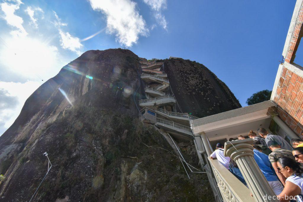 悪魔の岩階段