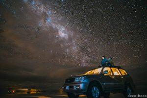 ウユニ塩湖 星空